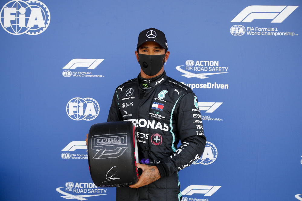 F1 schedules time for anti-racism gesture; Hamilton takes pole for British GP in record time