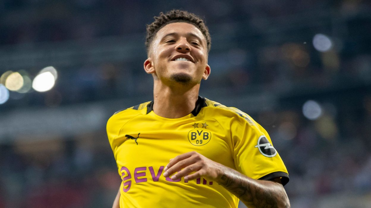 Manchester United and Dortmund struggle with Valuation of Sancho