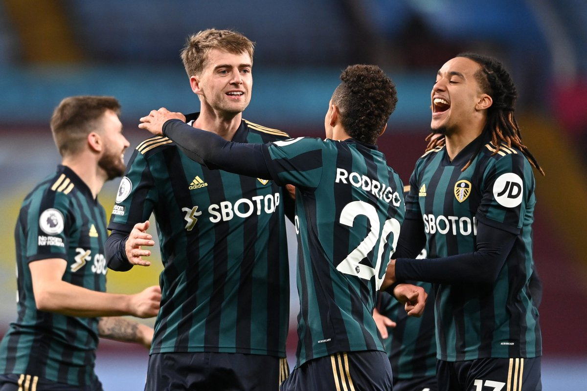 A.VILLA 0-3 LEEDS: BAMFORD HATRICK HELP WHITES DISRUPT VILLA PERFECT START.