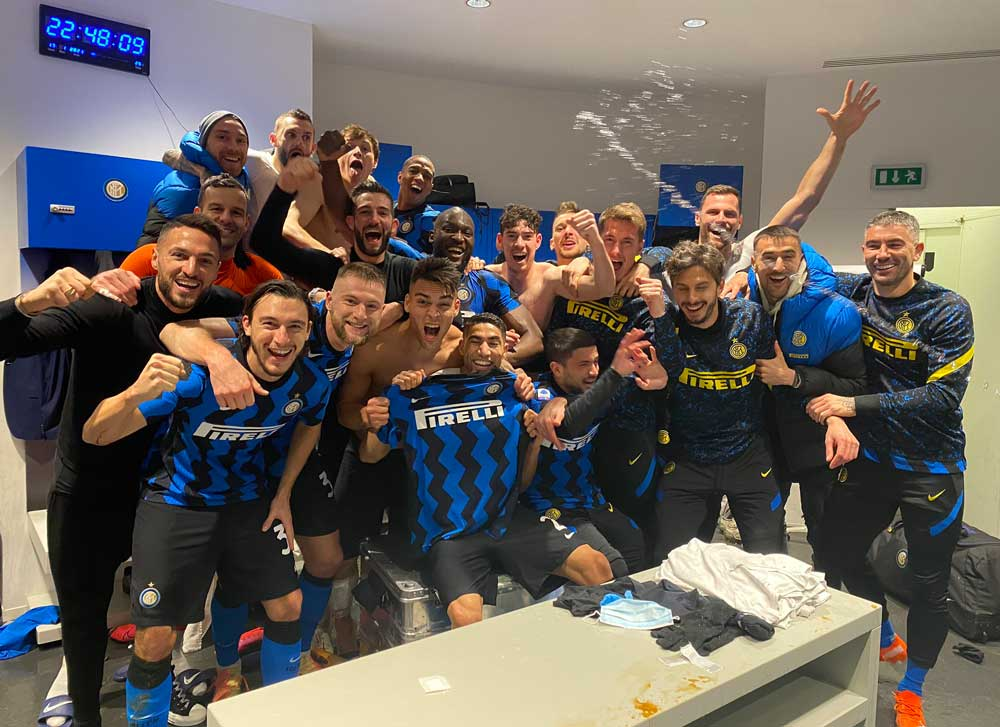 INTER MILAN SHOCK JUVENTUS WITH WIN TO JOIN LEADERS AC MILAN.