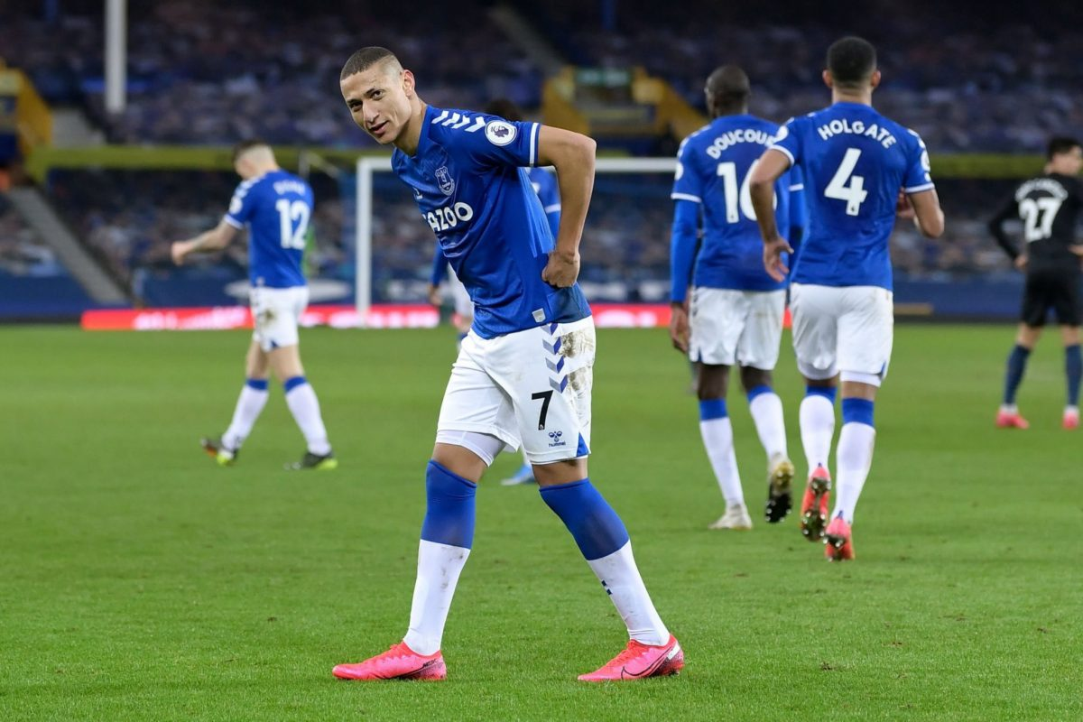 RICHARLISON STRIKE SEALS EVERTON VICTORY OVER SOUTHAMPTON TO GO LEVEL WITH LIVERPOOL
