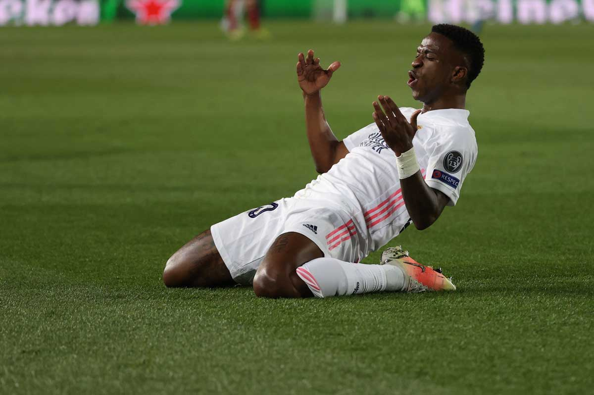 Vinícius Junior leads Real Madrid past Liverpool in 1st leg of CL quarterfinals