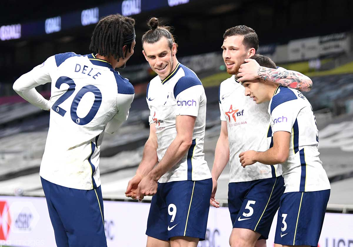 GARETH BALE HAT-TRICK HELPS SPURS BOOST TOP-FOUR HOPES AGAINST SHEFFIELD UTD