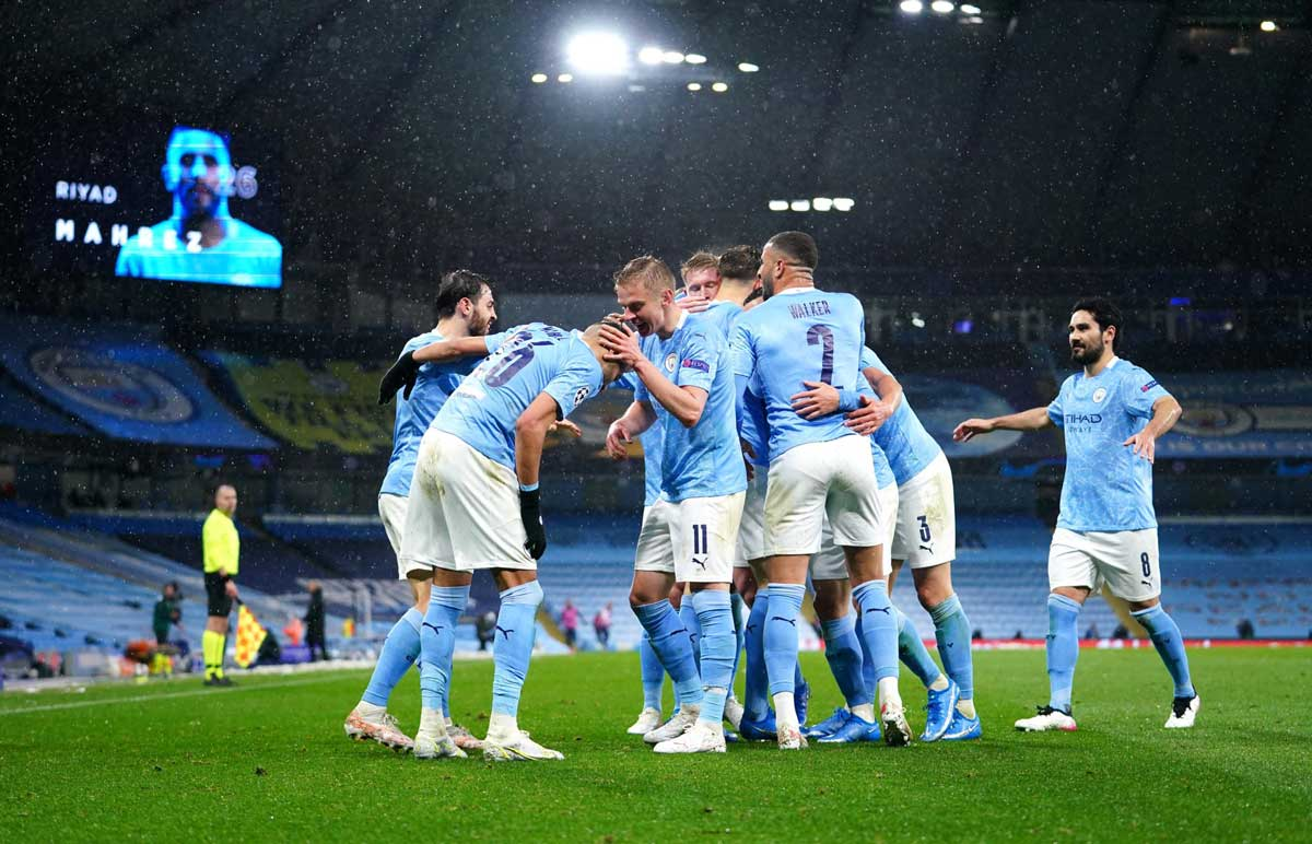 Manchester City ousts PSG to reach first Champions League final