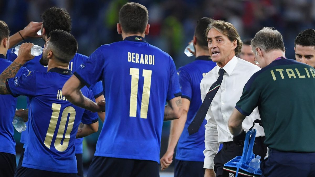 ITALY BECOMES THE FIRST TEAM TO QUALIFY FOR THE KNOCKOUT STAGES AFTER WIN OVER SWITZERLAND