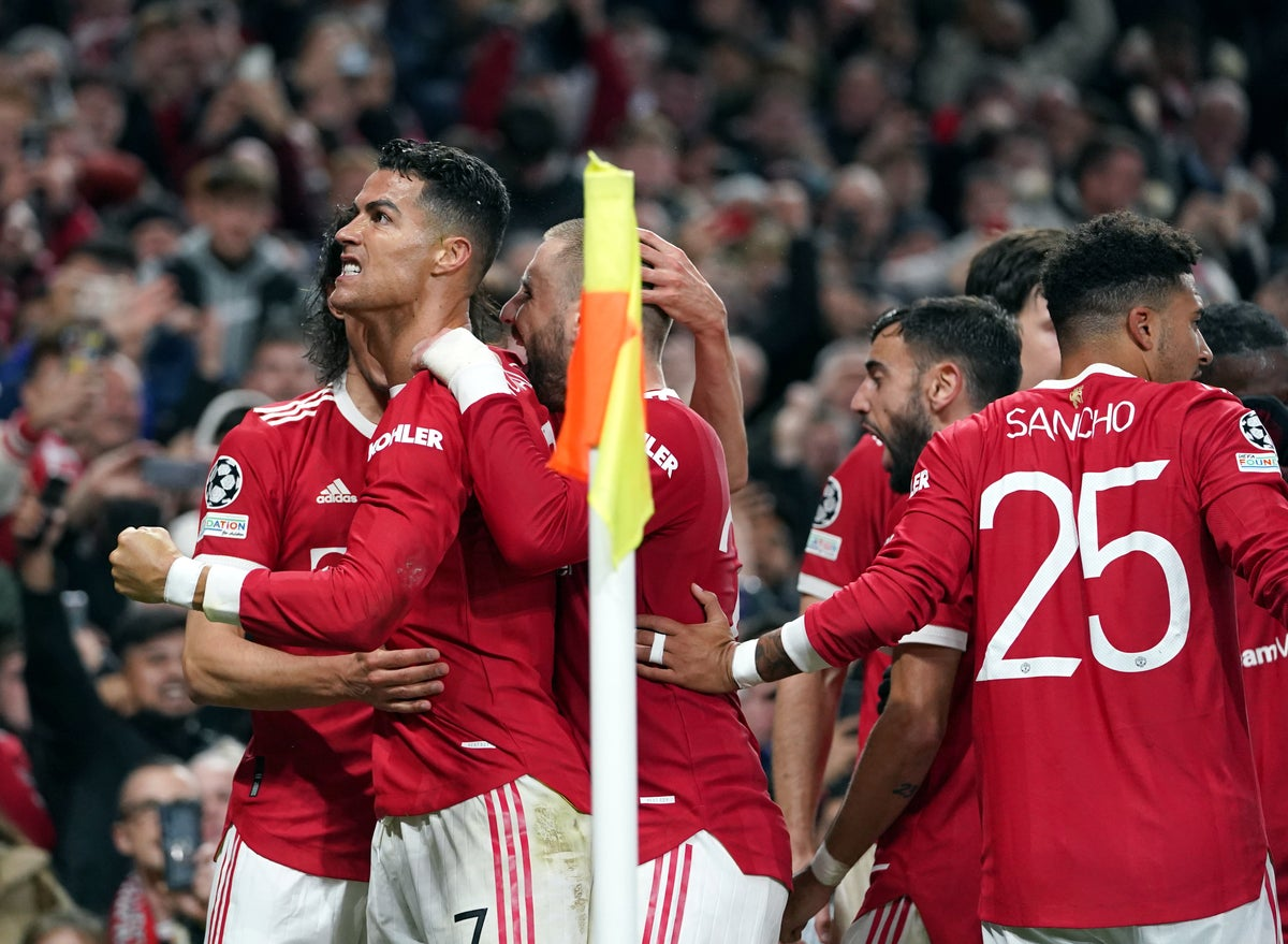 UCL: LAST-GASP CRISTIANO RONALDO HEADER COMPLETES STUNNING MANCHESTER UNITED COMEBACK